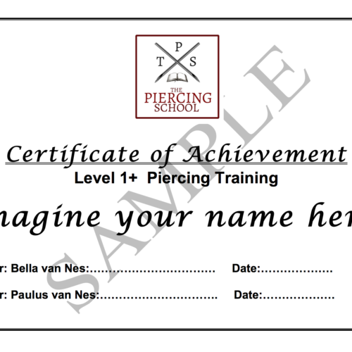 Promo Certificate